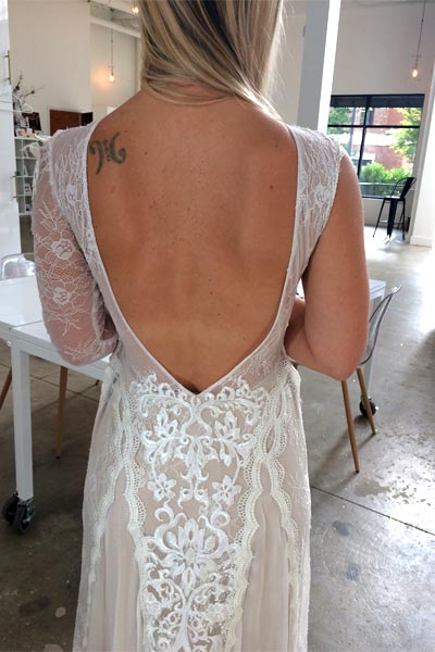 Bridal fitting session by Angela Kim Couture