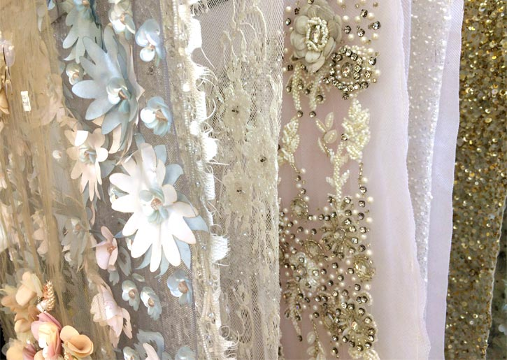 Angela Kim Couture Fabric Selections